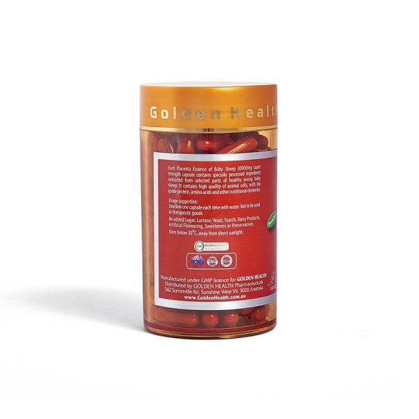 Avatar Viên uống nhau thai cừu Golden Health 30000mg 3