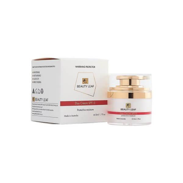 Kem dưỡng trắng bảo vệ da ban ngày Beauty Leaf 2